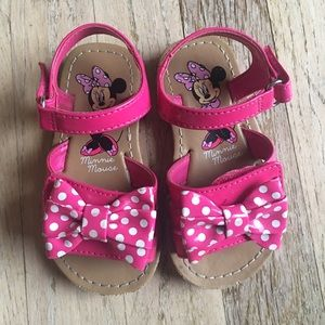 Other - Minnie Mouse Toddler Sandals
